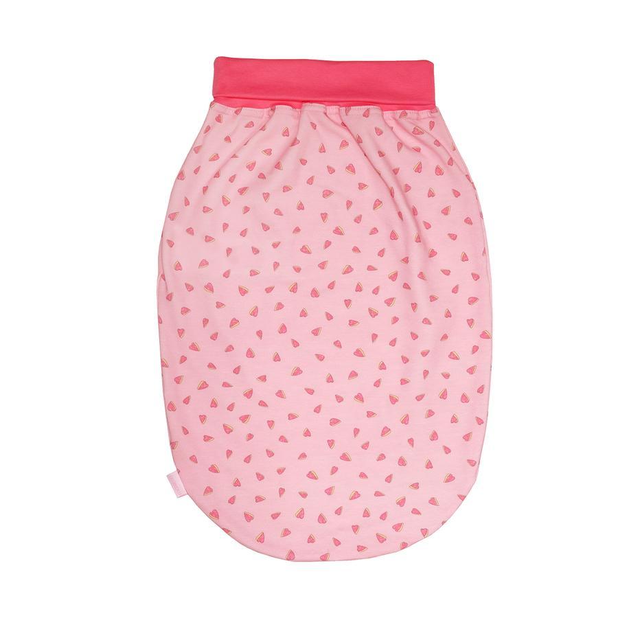 maxi mo sac Jersey à grenouillère coeurs rosa - pink