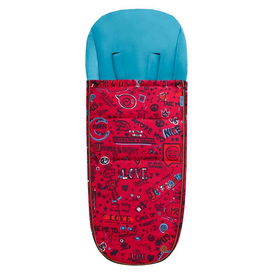 CYBEX GOLD Sacco invernale per passeggino Love Red-rosso