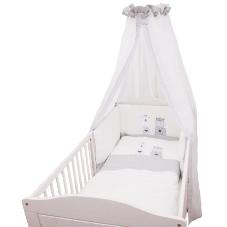 Be Be 's Collection Bedset Nicki 3-delig Odi & Bodi ecru