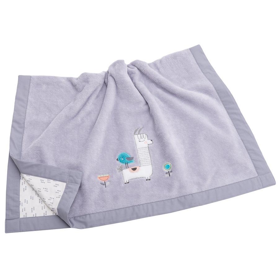 Be Be's Collection Cuddle přikrývka Lama šedá