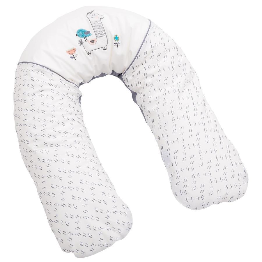 Be Be 's Collection Cuscino per l'allattamento con fodera Lama grigio