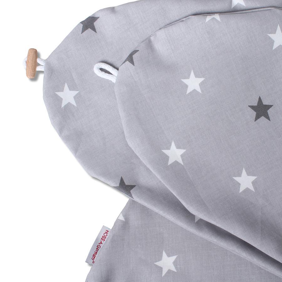 HOBEA-Tyskland sykepleieputetrekk stjernemønster grått
