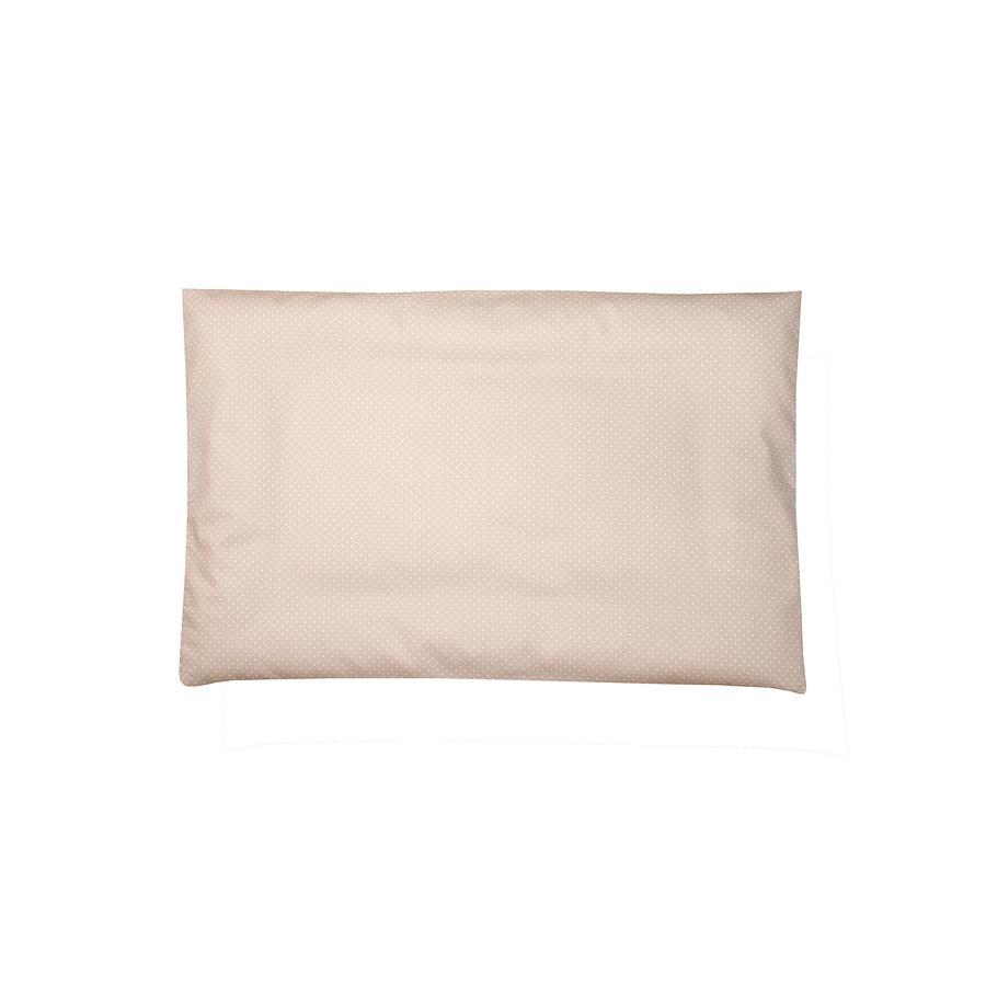 Ullenboom Taie d'oreiller d'enfant 40x60 cm sable