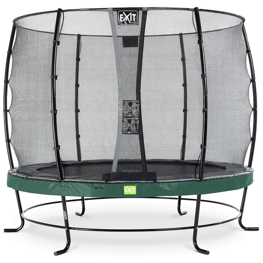 EXIT Trampolin Elegant ø305cm med Economy sikkerhedsnet - grøn