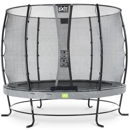 EXIT Elegant trampoline ø253cm met Economy veiligheidsnet - grijs
