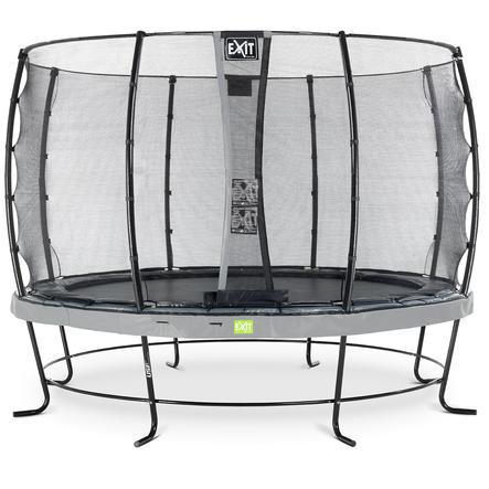 EXIT Elegant trampoline ø366cm met Economy veiligheidsnet - grijs