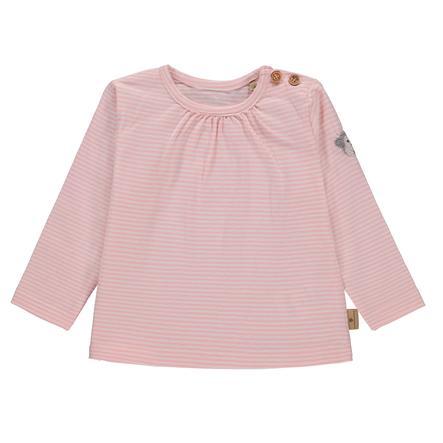bellybutton Girl s Koszula z długim rękawem, w różowe paski