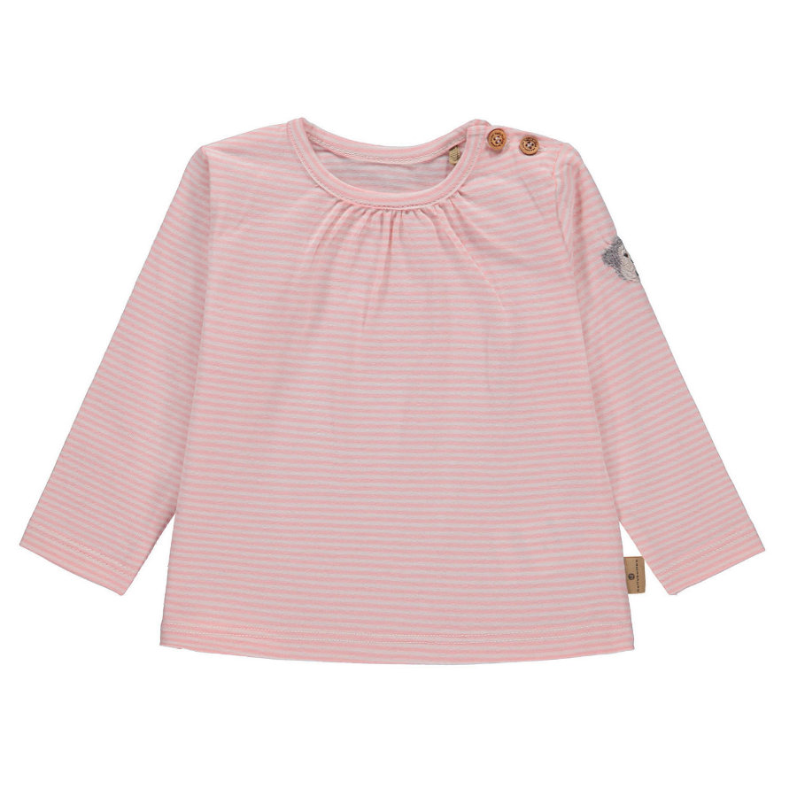 bellybutton Girls Langarmshirt, rosa gestreift
