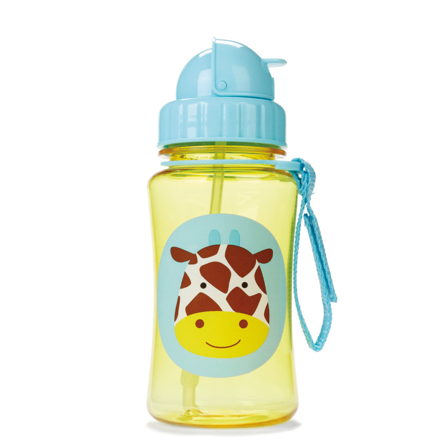 SKIP HOP Zoo Kindertrinkflasche, Giraffe Jules