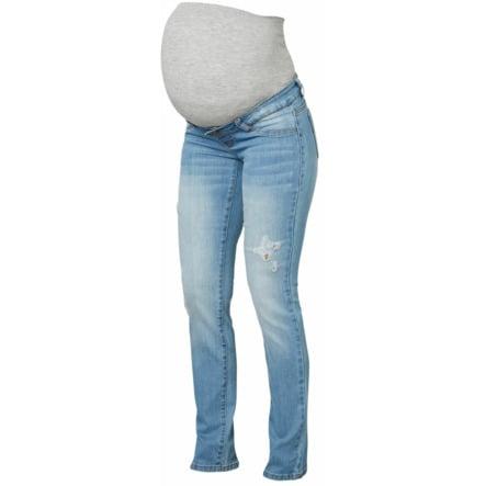 mama licious maternity jeans MLJULIA light blue denim