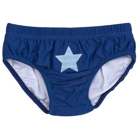 DIMO-TEX Windelbadehose Stars dunkel-blau