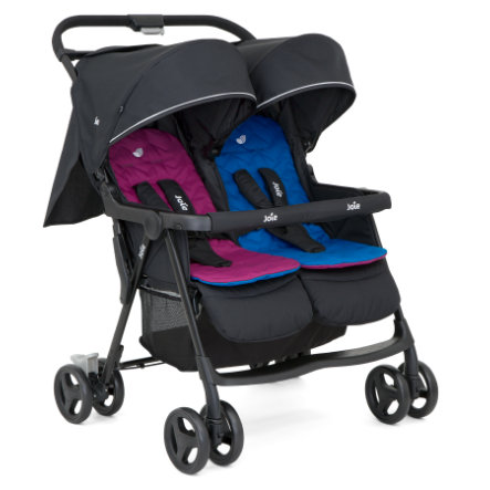Joie Zwillingsbuggy AireTwin Rosy and Sea