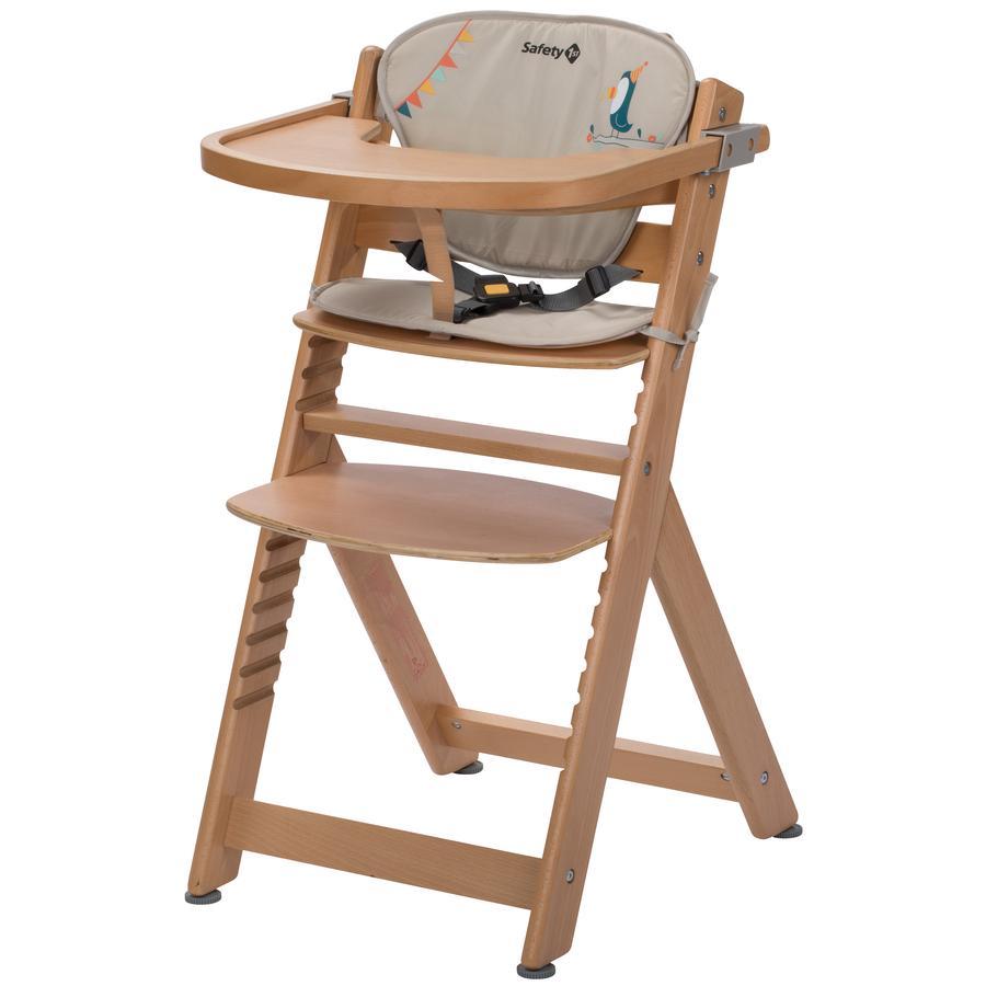 Safety 1st Krzesełko do karmienia Timba + poduszka redukcyjna Wood