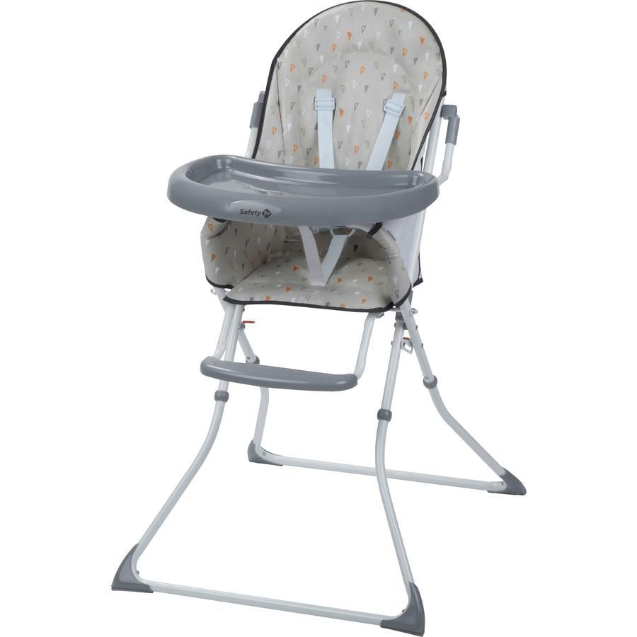 Bezpečnost 1. vysoká židle Kanji Warm Grey