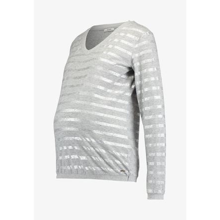 LOVE2WAIT Langarmshirt Striped Grey