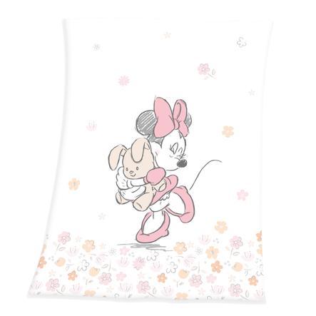 HERDING Soft Peach Decke Minnie Mouse 75x100 cm