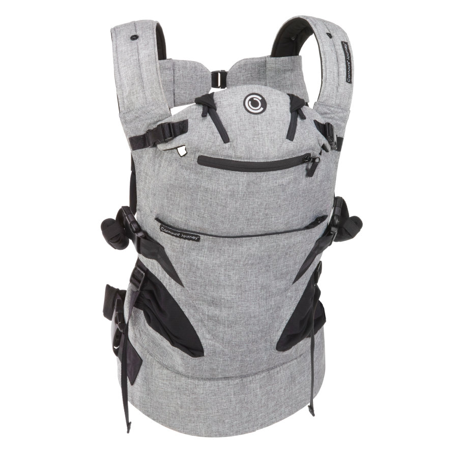 Contours Bauchtrage Journey 5 in 1 - grey