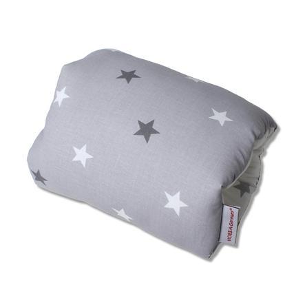 HOBEA-Tyskland myi Nursing Cushion Stars hvitgrå