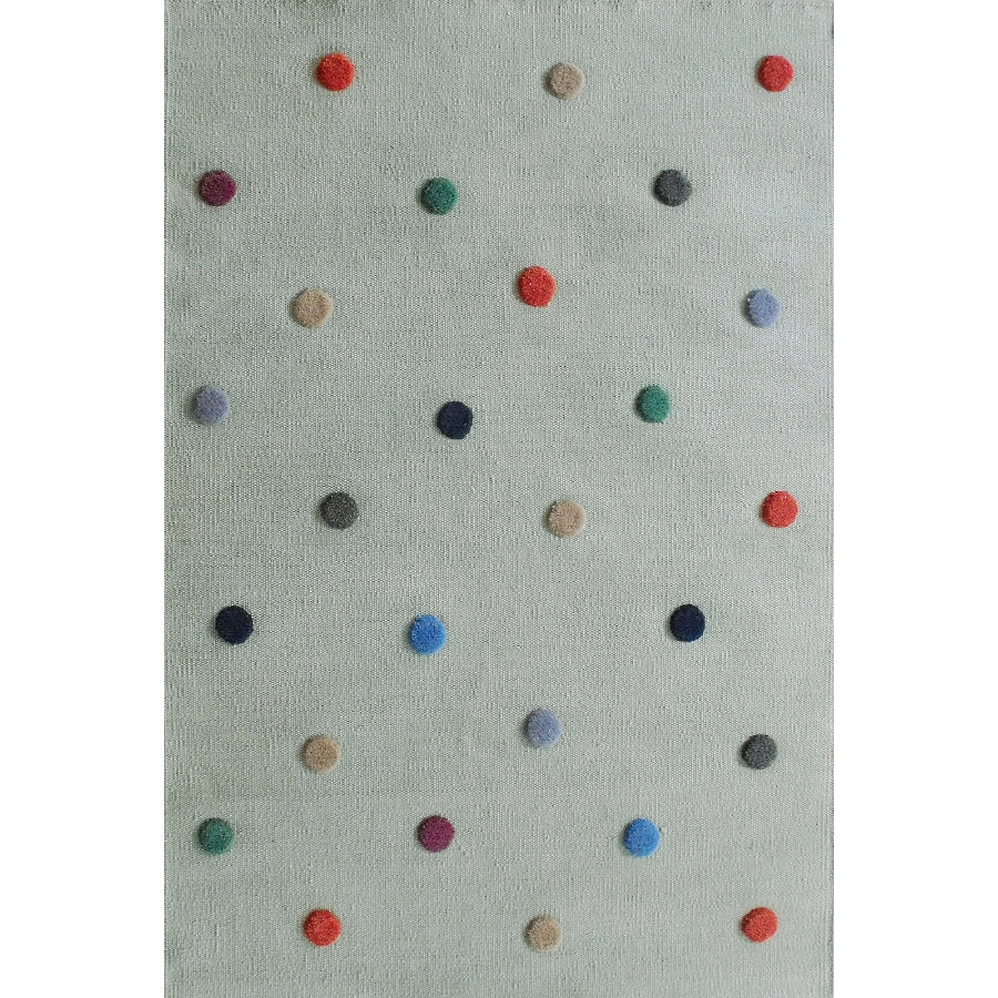 LIVONE Barnmatta Happy Rugs Spot mint/multi, 120 x 180 cm