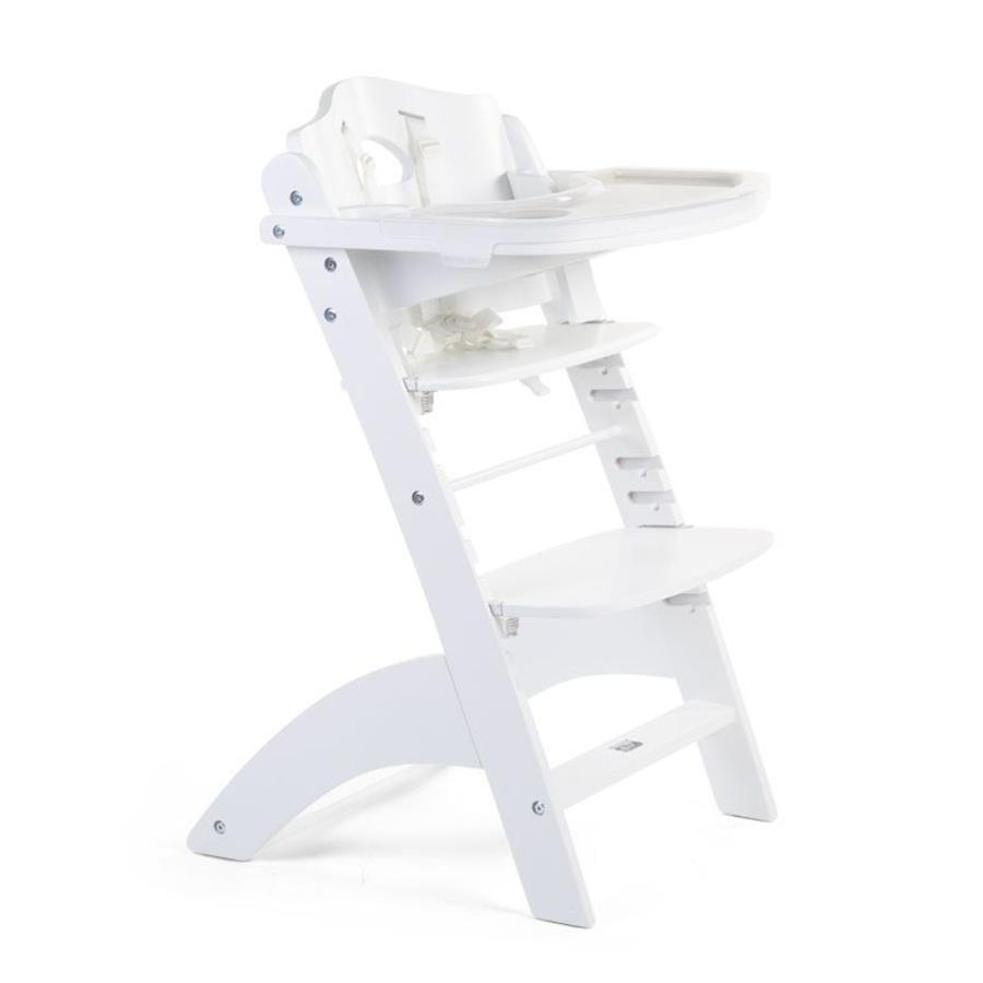 CHILDHOME Chaise haute enfant à marche Lambda 3 hêtre blanc