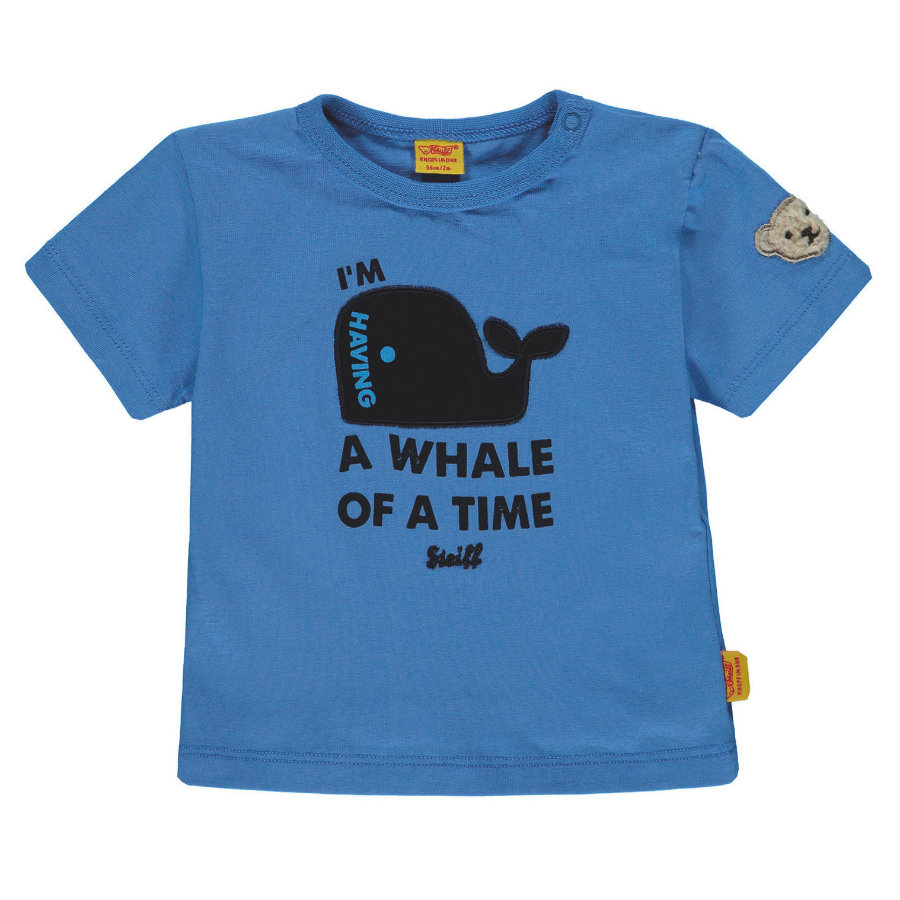 Steiff Boys T-Shirt blu marino