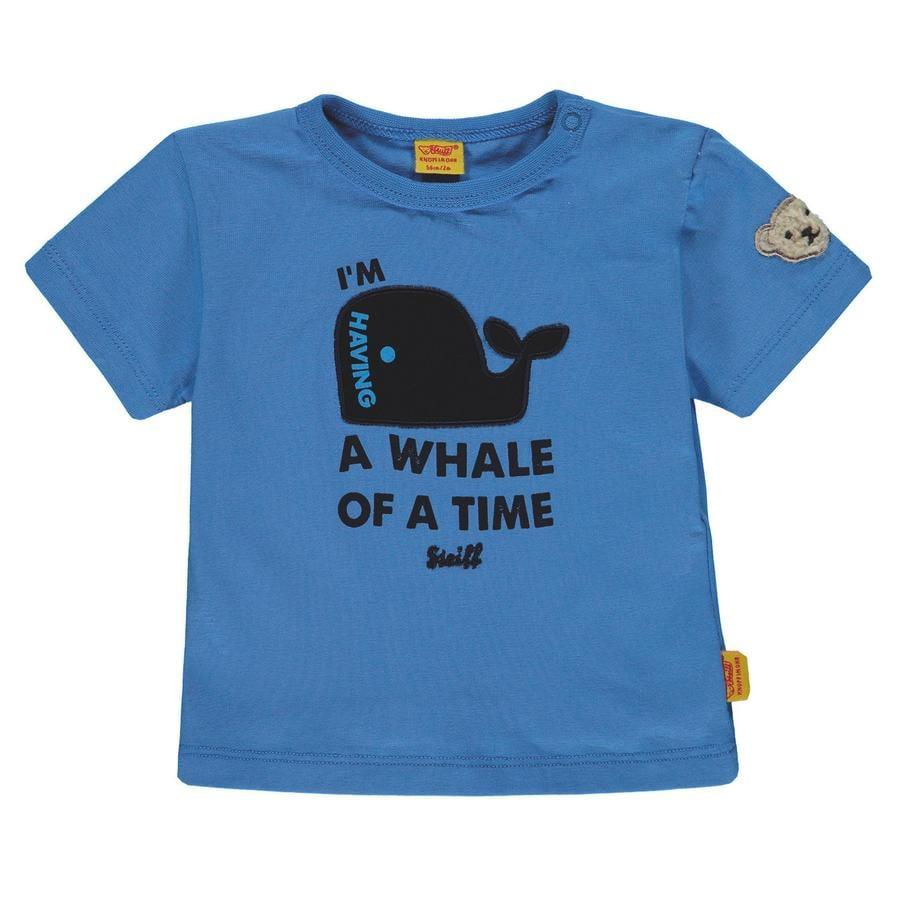 Steiff T-skjorte for gutter, marineblå