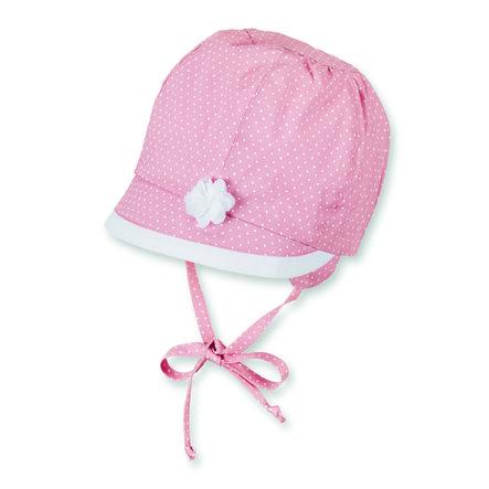 Sterntaler Girl s cap łososiowy różowy łososiowy