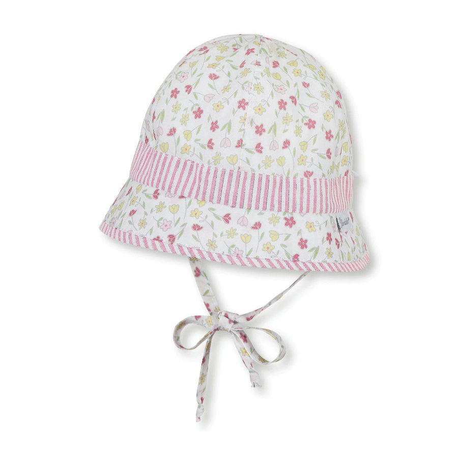 Sterntaler Girl kapelusz wędkarski biały