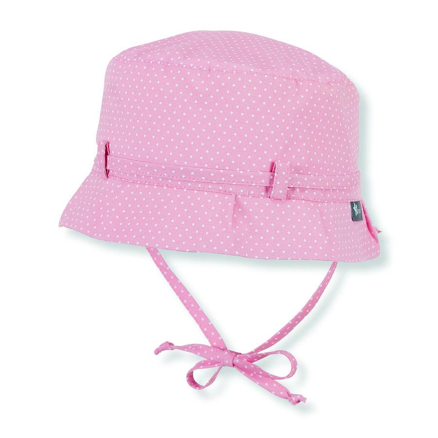 Sterntaler Girl s Cappello salmone rosa salmone