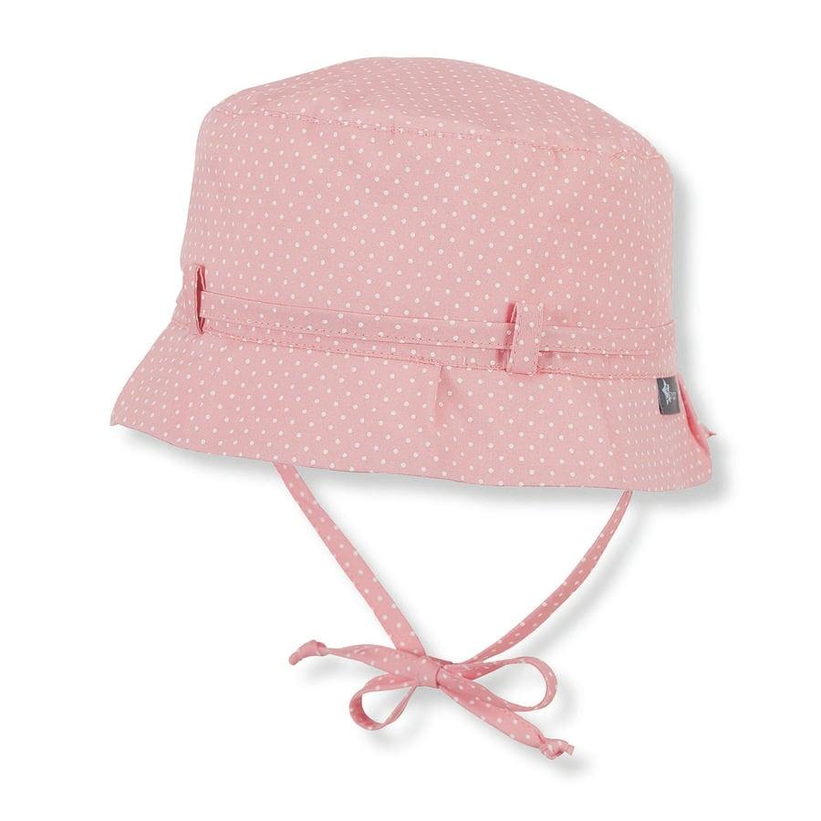 Sterntaler Girl s Łosoś w kapeluszu różowy