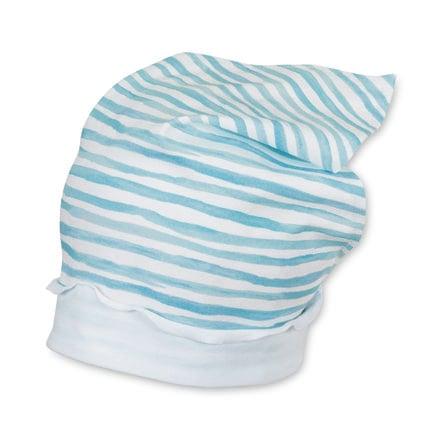 Sterntaler Girl pañuelo de la cabeza del niño azul marino