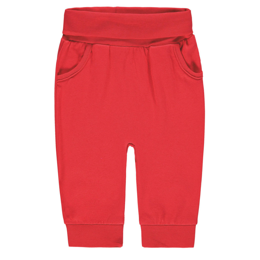 Steiff Girl s pantalones de chándal, rojos