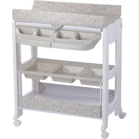 Safety 1st Combi table à langer bain Dolphy warm grey