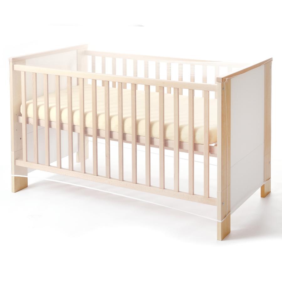 REWA Moustiquaire pour lit bébé 70x140 cm blanc