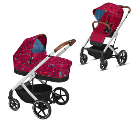 cybex Balios S + Carry Cot S Love Red 2019