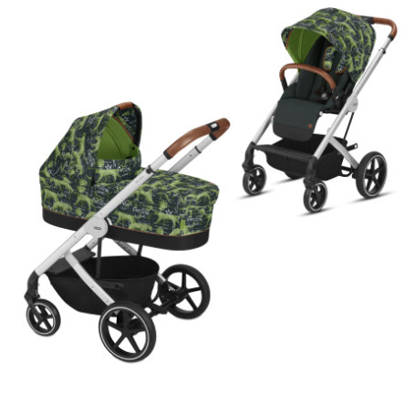 cybex Balios S + Carry Cot S Respect Green 2019