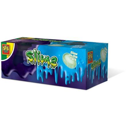SES Creative® Slime - Moonstone Glow in the Dark 2x120gr