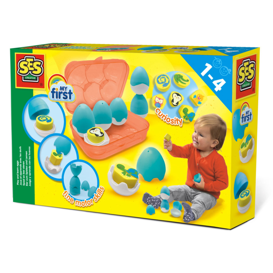 SES Creative® My first - Play and learn eggs
