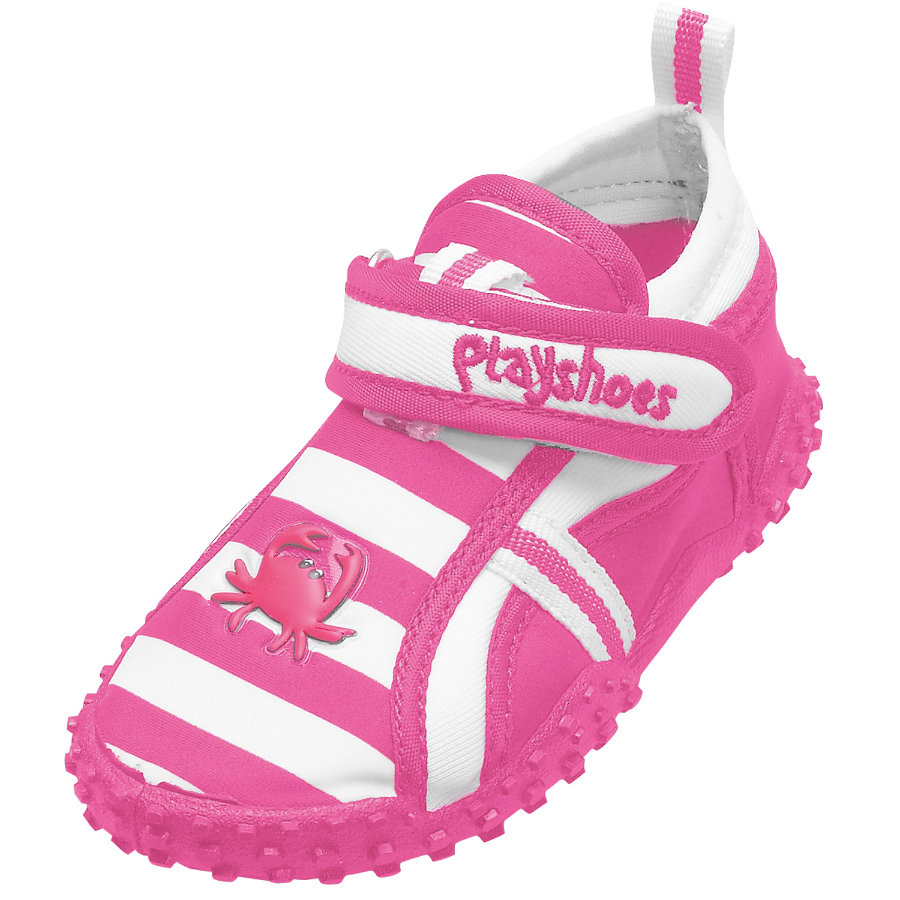 PLAYSHOES Chaussures de bain protection UV 50+ rose crabe