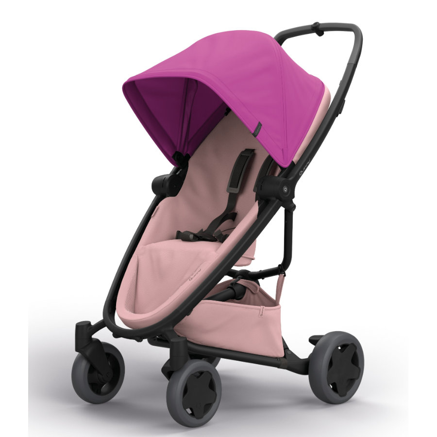 Quinny Buggy Zapp Flex Plus Pink on Blush