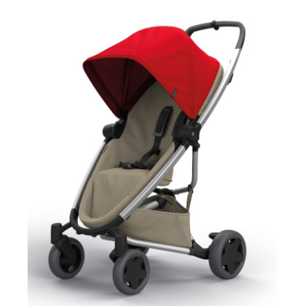 QUINNY Matkarattaat Zapp Flex Plus, Red on Sand