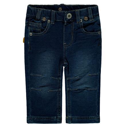 Steiff Boys Pantalon Jean, denim bleu foncé