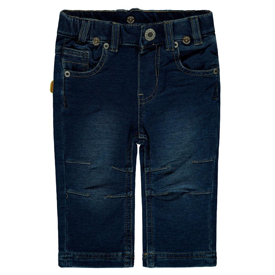 Steiff Boys Jeanshose, dark blue denim
