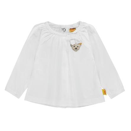 Steiff Girl s blouse, wit