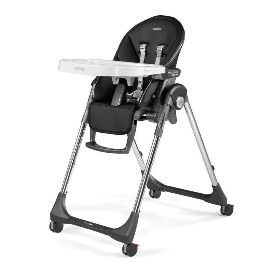 PEG-PEREGO Jídelní židlička Prima Pappa Follow Me Hightech-Licorice (imitace kůže)