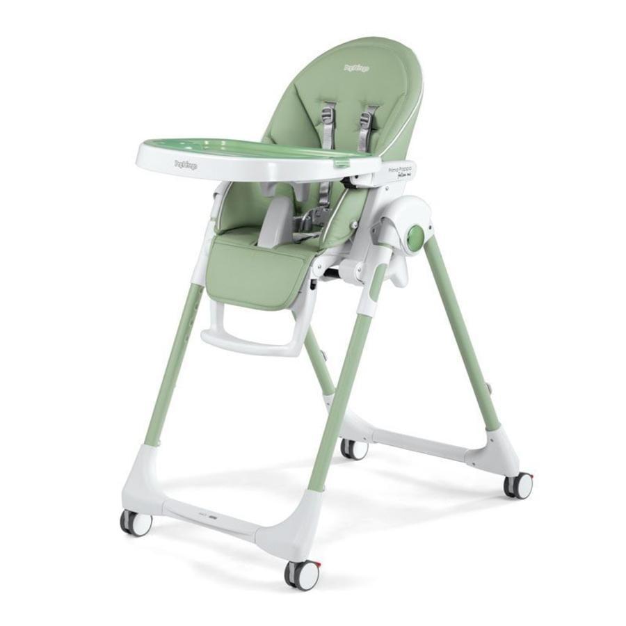 PEG-PEREGO Jídelní židlička Prima Pappa Follow Me Me Mint (imitace kůže)