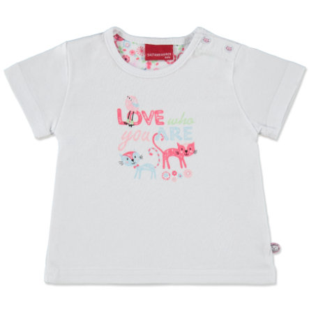 SALT AND PEPPER Girls Baby T-Shirt white