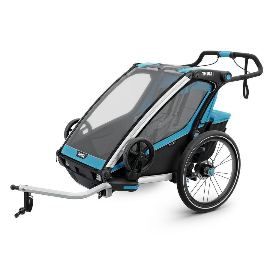 THULE Kinderfahrradanhänger Chariot Sport 2 Blue - Black
