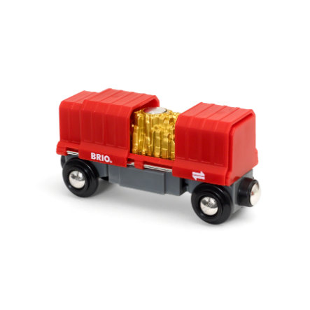 BRIO® WORLD Container Goldwagon