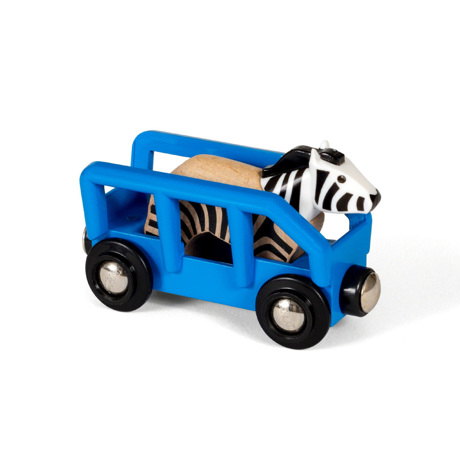 BRIO® WORLD Safari Zebra Dierentransport